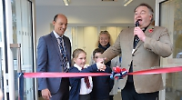 School's library extension opened