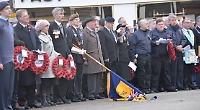 Hundreds gather for Remembrance service