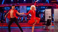 Debbie slips up with salsa