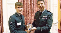 RAF award for former student