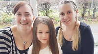 Girl, six, gives hair towards wig for children with cancer