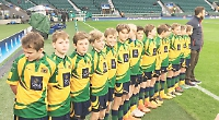 Hawks boys' exciting day out at Twickenham