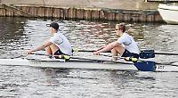 Club's junior women crew record first sweep-oared win