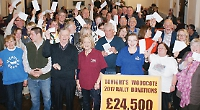 Rally donates £24,500 to charities and worthy causes