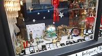 Nativity scene in antiques shop wins window display contest