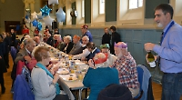 Mayor's Christmas party for old folk