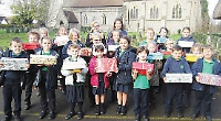 Pupils donate gifts for Christmas