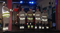 Living Advent Day 9: Firefighters festive show