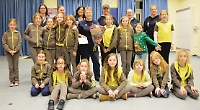 Brownies leader honoured for 38 years of service
