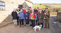 Walkers raise £1,000 for vulnerable veterans