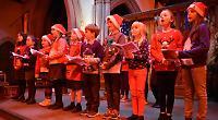 Living Advent Calendar Day 18: Trinity Primary School choir