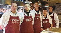 Butcher who's almost as busy as Father Christmas!