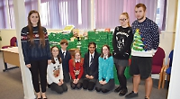 School collects food donations for charity