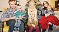 Boy, four, celebrates end of cancer treatment with Christmas trip to Lapland