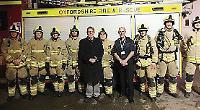 MP visits fire station