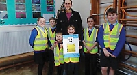 Pupils made road safety officers