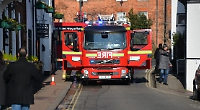 Road closed after fryer fire at restaurant