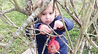 Toddlers have a licence to roam the great outdoors