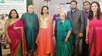 Bollywood party for shop couple