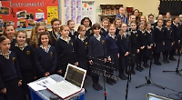 Musical pupils record school CD for charity