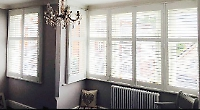 Our solid hardwood shutters are made to measure