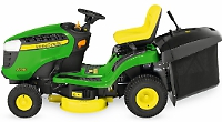 Ride-on lawn tractor is on special offer