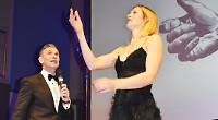 Compere's sexist joke backfires at awards