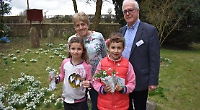Church's snowdrop open day to commemorate fallen