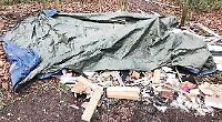 Man condemns trader who dumped rubbish in woods