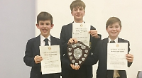 Boys are twice as good in speaking contest