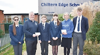 Students raise £3,360 for homeless and sick children