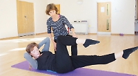 Safe and supportive positions help achieve the right balance