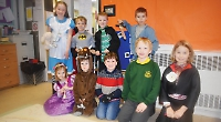 Pupils dress up for World Book Day