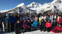 Pupils enjoy skiing trip