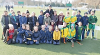 Pupils given hockey masterclass by Olympic medallist