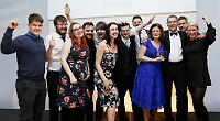 Restaurant staff outing to awards