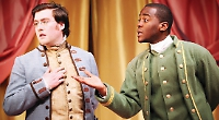 Comedy's nights in pink satin bring 18th century Bath to life