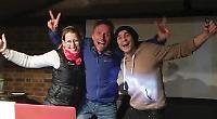 Trio tell of adventures to promote charity trek