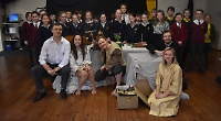 Pupils create storm at visiting Shakespeare production