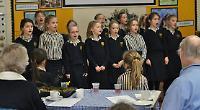 School hosts afternoon tea for elderly