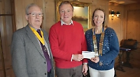 Rotarians donate £1,500 to Ugandan hospital