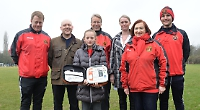 Defibrillator donated to children's football club