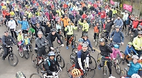 Families get on bikes for charity