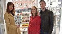 Gallery displays print inspired by Midsomer Murders