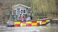 Huge river search for missing pensioner