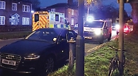 Parking permits call after campervan 'fire' drama