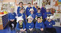Bubble class in bonnet parade