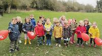 Toddlers run for Awande