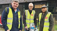 Volunteers join rescheduled spring cleans