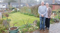 Couple win garden prize again but at new house
